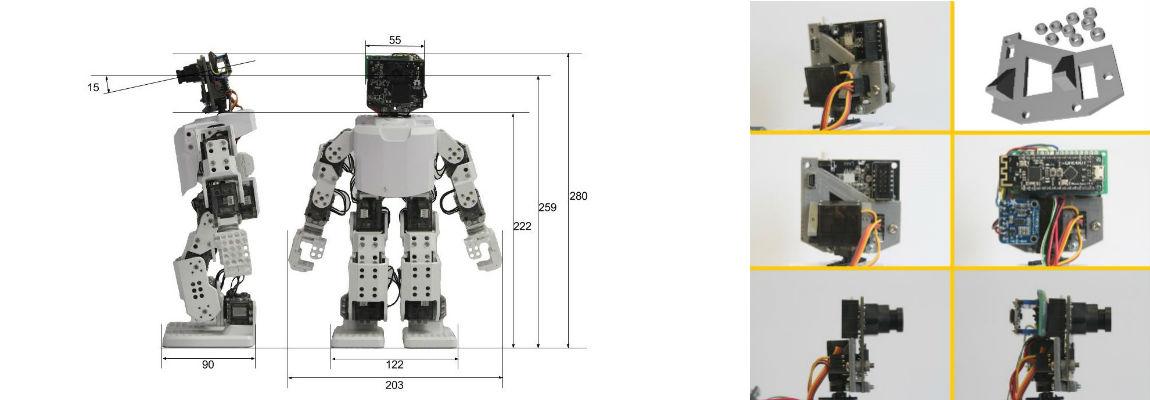 Affordable Humanoid Robot Platform